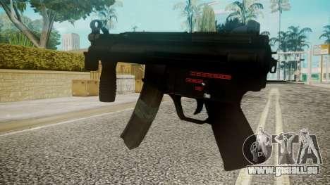 MP5 by EmiKiller pour GTA San Andreas deuxième écran