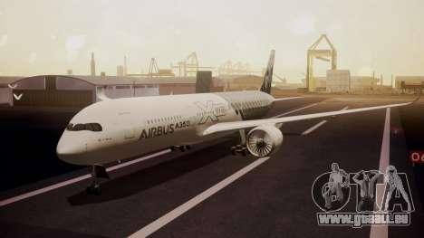 Airbus 350-900XWB MSN2 Carbon Livery für GTA San Andreas