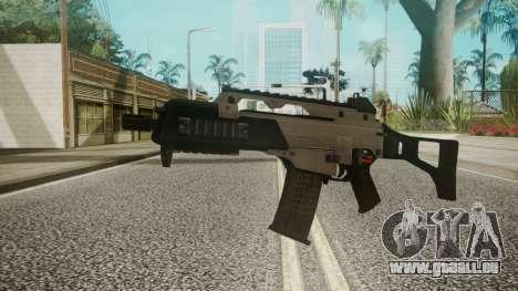 G36C Silver pour GTA San Andreas