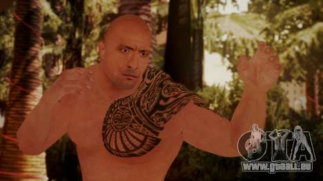WWE 2K15 The Rock für GTA San Andreas