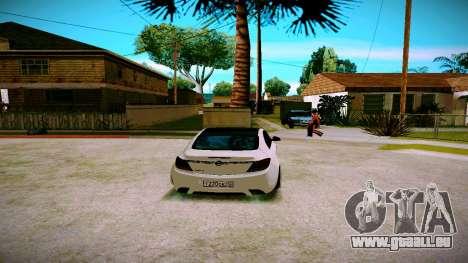 Opel Insignima SCREAM für GTA San Andreas rechten Ansicht