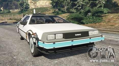 DeLorean DMC-12 Back To The Future v0.5 für GTA 5