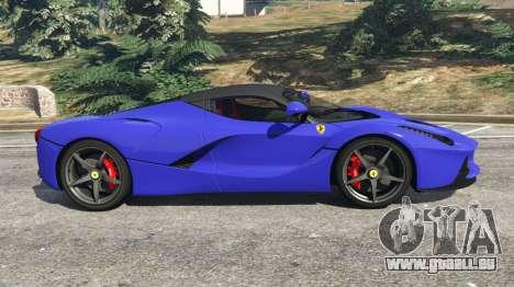 GTA 5 Ferrari LaFerrari 2013 v2.5 linke Seitenansicht