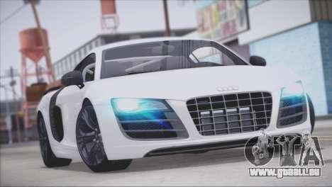 Audi R8 GT 2012 Sport Tuning V 1.0 für GTA San Andreas Motor