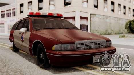 Chevy Caprice Station Wagon 1993-1996 SACFD pour GTA San Andreas