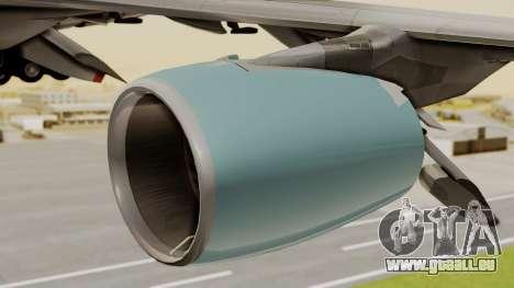 Airbus A380 Air Force One pour GTA San Andreas vue de droite