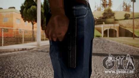 Colt 45 by catfromnesbox pour GTA San Andreas troisième écran
