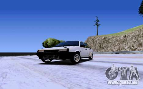 VAZ 2109 Turbo pour GTA San Andreas laissé vue