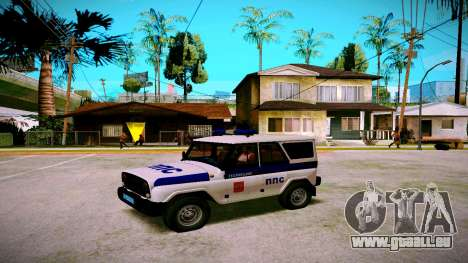UAZ hunter PPP-Service für GTA San Andreas