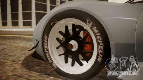 Porsche 918 RSR für GTA San Andreas zurück linke Ansicht