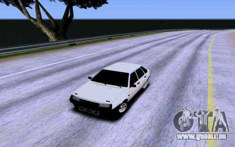 VAZ 2109 Turbo pour GTA San Andreas salon