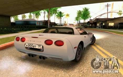 Chevrolet Corvette C5 2003 für GTA San Andreas Seitenansicht