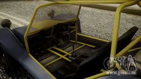 GTA 5 BF Bifta pour GTA San Andreas vue de droite
