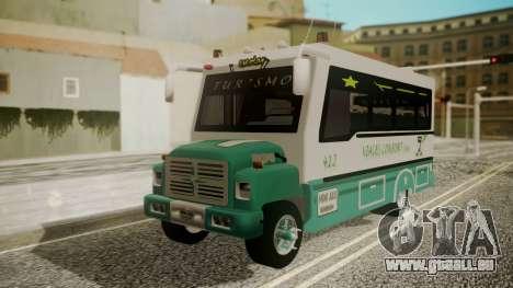 Chevrolet B70 Bus Colombia pour GTA San Andreas