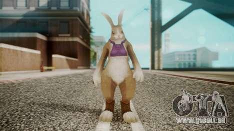 Alice Rabbit Form from Bloody Roar für GTA San Andreas zweiten Screenshot