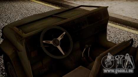 UAZ MGS5 TPP für GTA San Andreas rechten Ansicht
