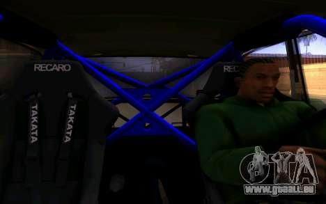VAZ 2101 Voiture pour GTA San Andreas vue de côté