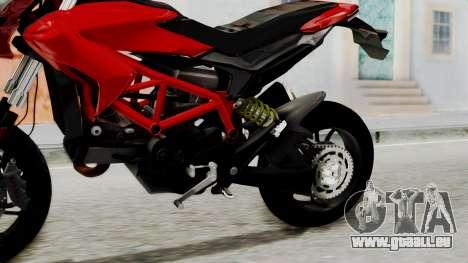 Ducati Hypermotard pour GTA San Andreas vue de droite