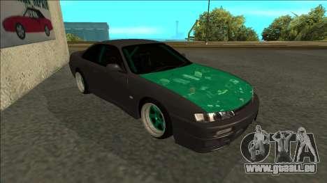 Nissan 200sx Drift pour GTA San Andreas laissé vue