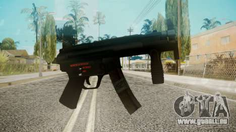 MP5 by EmiKiller für GTA San Andreas