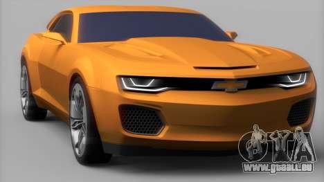 Chevrolet Camaro DOSH Tuning v0.1 Beta für GTA San Andreas zurück linke Ansicht