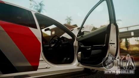 Mitsubishi Lancer Evolution X 2015 Final Edition pour GTA San Andreas vue de côté