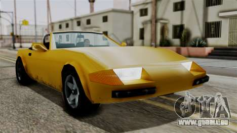 Stinger from Vice City Stories pour GTA San Andreas vue de droite