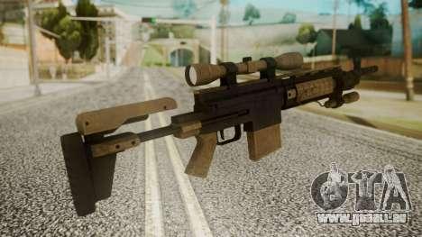 Sniper Rifle from RE6 für GTA San Andreas zweiten Screenshot