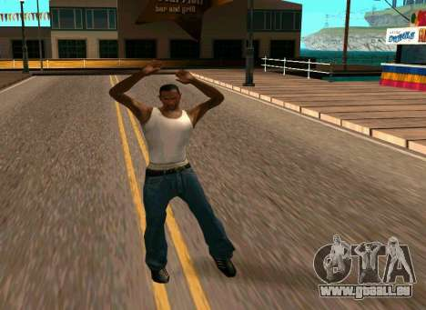 50 Animations v1.0 pour GTA San Andreas