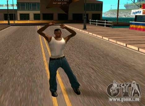 50 Animations v1.0 für GTA San Andreas
