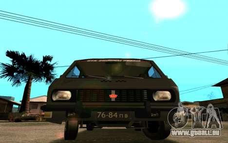 RAF-2203 für GTA San Andreas Seitenansicht