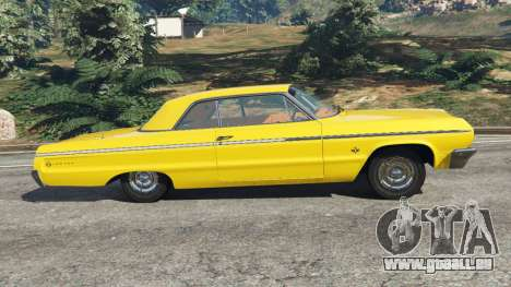 GTA 5 Chevrolet Impala SS 1964 linke Seitenansicht