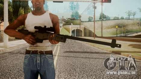 Sniper Rifle by catfromnesbox für GTA San Andreas dritten Screenshot