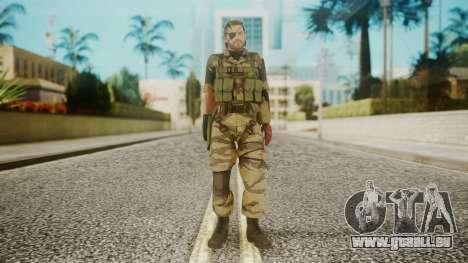 Venom Snake Tiger Stripe pour GTA San Andreas deuxième écran