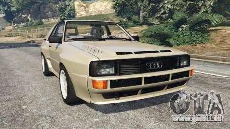 Audi Sport quattro v1.4 für GTA 5