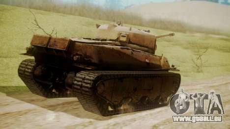 Heavy Tank M6 from WoT für GTA San Andreas linke Ansicht