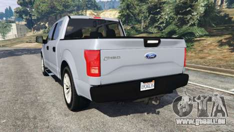 GTA 5 Ford F-150 2015 hinten links Seitenansicht