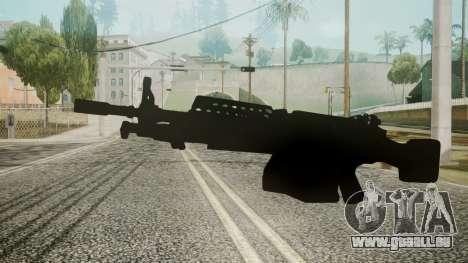 M249 Battlefield 3 für GTA San Andreas zweiten Screenshot