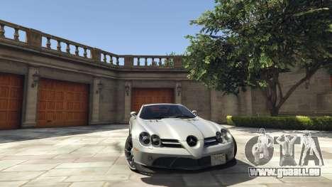 Mercedes-Benz SLR 2005 v2.0 pour GTA 5