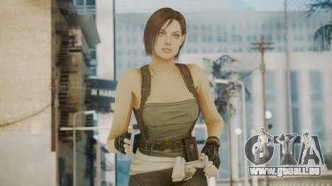 Resident Evil Remake HD - Jill Valentine pour GTA San Andreas