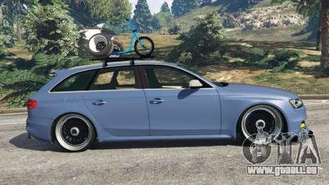Audi RS4 Avant 2014 pour GTA 5