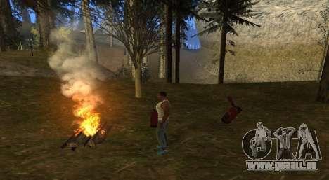 Das Feuer für GTA San Andreas