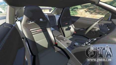 GTA 5 Nissan GT-R (R35) [RocketBunny] Lenkrad