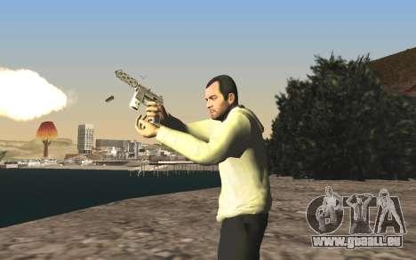 GTA 5 Tec-9 pour GTA San Andreas onzième écran