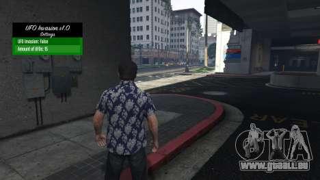 GTA 5 UFO Invasion 1.0.1 dritten Screenshot