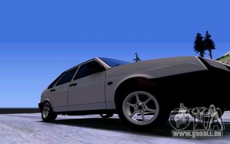 VAZ 2109 Turbo pour GTA San Andreas vue de côté