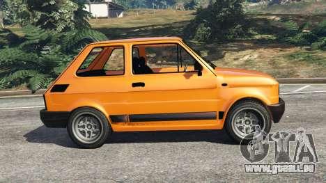 GTA 5 Fiat 126p v1.0 linke Seitenansicht