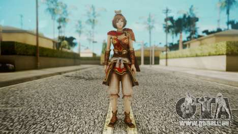 Dynasty Warriors 8 - Sun ShangXian (DLC ROTTK) für GTA San Andreas zweiten Screenshot
