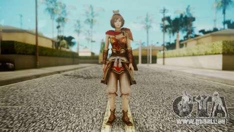 Dynasty Warriors 8 - Sun ShangXian (DLC ROTTK) pour GTA San Andreas deuxième écran