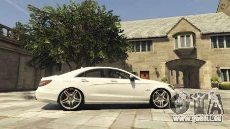GTA 5 Mercedes-Benz CLS 6.3 AMG [BETA] linke Seitenansicht